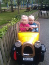 Tots 'n' Tinies Paulton's Park Trip2012